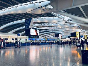 שדה התעופה הית׳רו, שדות תעופה בלונדון