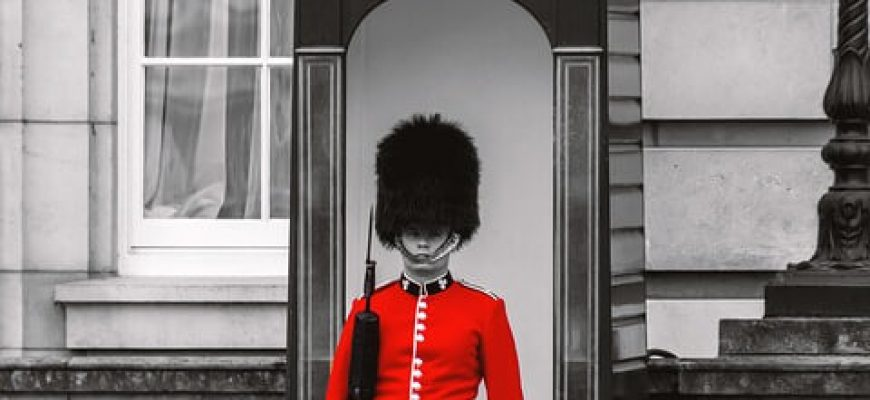 טקס החלפת משמרות בארמון בקינגהאם