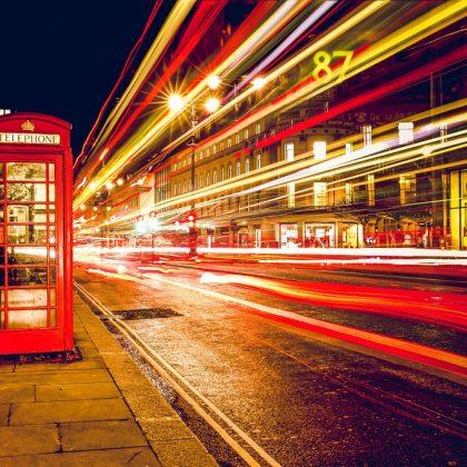 התניידות בלונדון עם שירות שאטלים